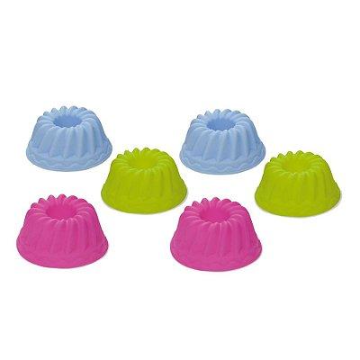 Jogo de Mini Formas para Confeitaria - 6 peças - Mimo Style
