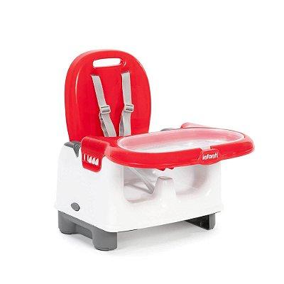 Cadeira de Refeição Portátil Mila - Vermelho - Infanti