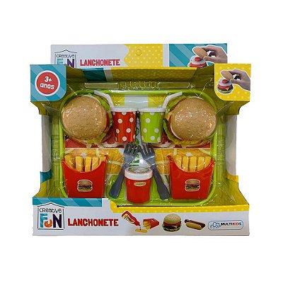 Kit Lanchonete SanduÍches - Creative Fun - Multikids
