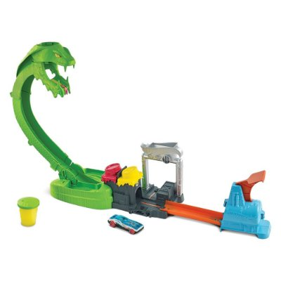 Hot Wheels - Pista Ataque Tóxico da Serpente - Mattel