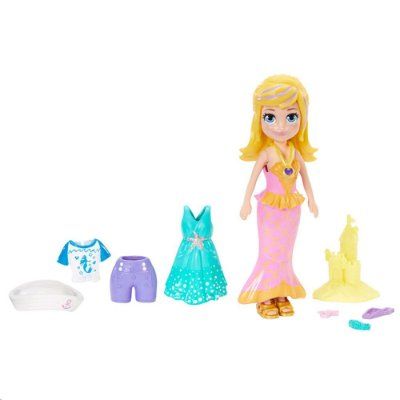 Kit Polly Pocket - Roupinhas de Sereia - Polly - Mattel