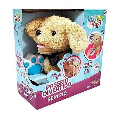 Cachorrinho Passeio Divertido - Play Full Pets - Toyng