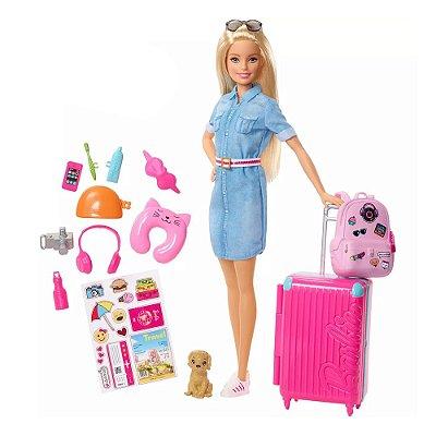 Boneca Barbie Viajante - Mattel