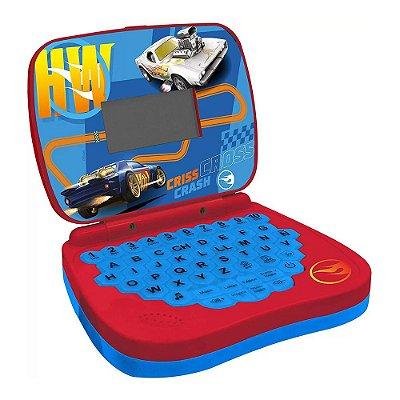 Laptop Infantil Bílingue Hot Wheels - Candide