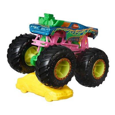 Hot Wheels Monster Trucks - Neon Shockers/Rodger Dodger - Mattel