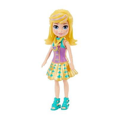 Polly Pocket - Polly Saia Dourada - Mattel