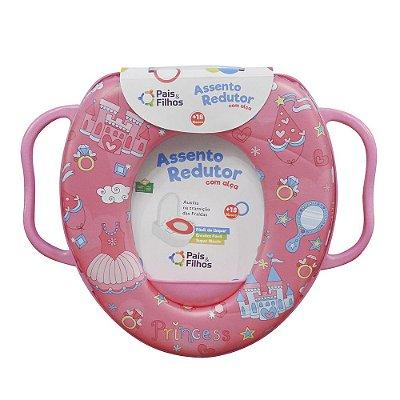 Redutor de Assento Infantil Com alças - Castelos das Princesas - Pais e Filhos