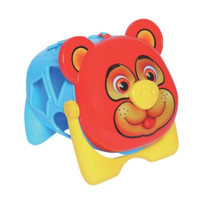 Urso Tomy Didático - Vermelho - Mercotoys