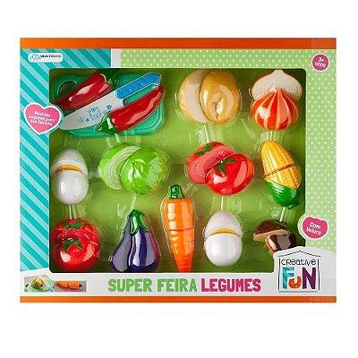 Creative Fun - Super Feira Legumes - Multikids