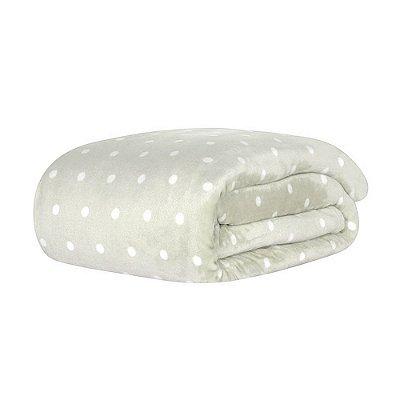 Cobertor Blanket Vintage King - Cinza - Kacyumara