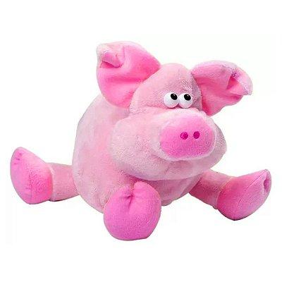 Pelúcia Porco Rosa Maluco - Lovely Toys