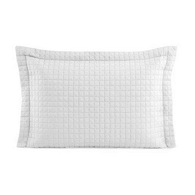 Porta Travesseiro Mosaico - Branco - Lavive