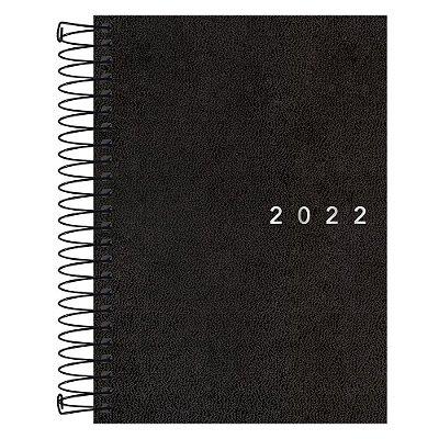 Agenda Diária Napoli 2022 - Preta - Tilibra