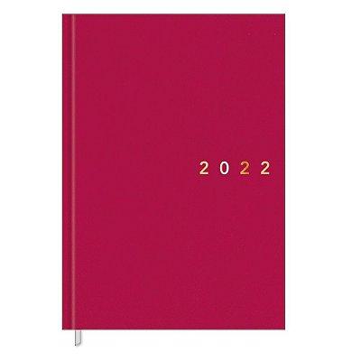 Agenda Napoli Diária Costurada 2022 - Rosa - Tilibra