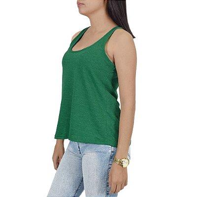 Regata Feminina Básica Flame - Verde - Malwee
