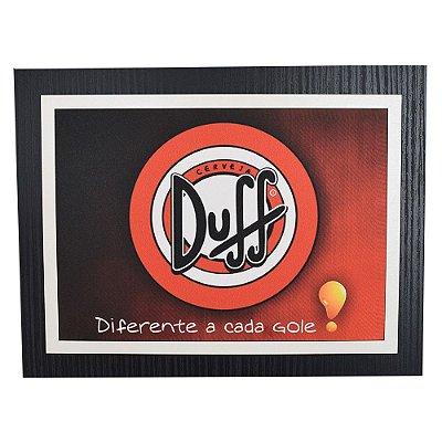 Quadro Decorativo Duff  - Diferente a Cada Gole - 30 x 23 cm