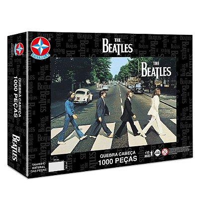 Quebra-Cabeça Beatles Abbey Road - 1000 Peças - Estrela