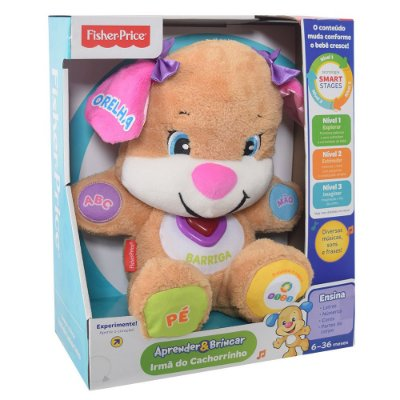 Irmã do Cachorrinho Aprender & Brincar - Fisher Price