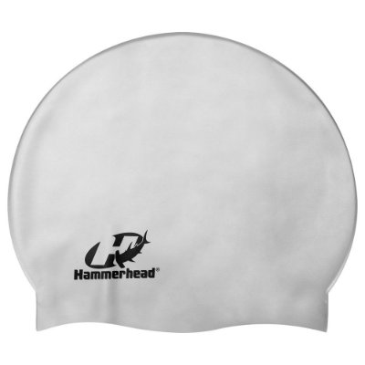 Touca de Silicone Premium - Prata - Hammerhead