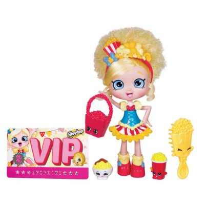 Shopkins - Boneca Shoppies Pipokátia - DTC