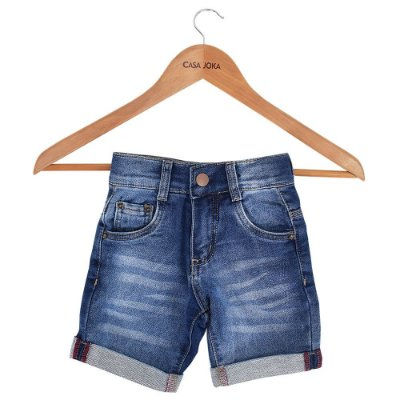 Bermuda Jeans Infantil - Brasileirinhos - Malwee
