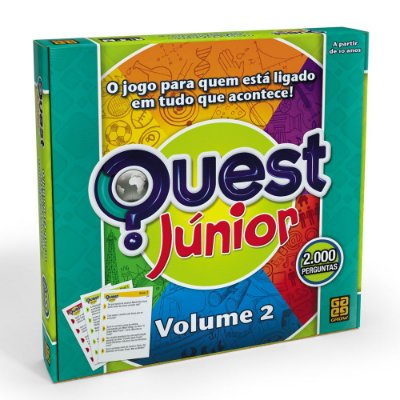 Jogo Quest Júnior - Volume 2 - Grow