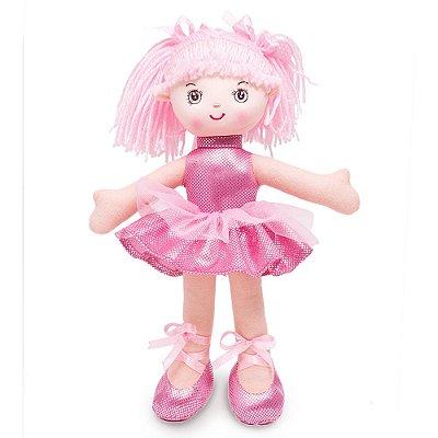 Boneca Bailarina Glitter - Buba