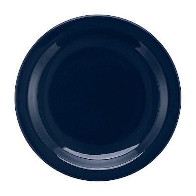 Prato de Sobremesa Denim Azul - 20cm - Oxford