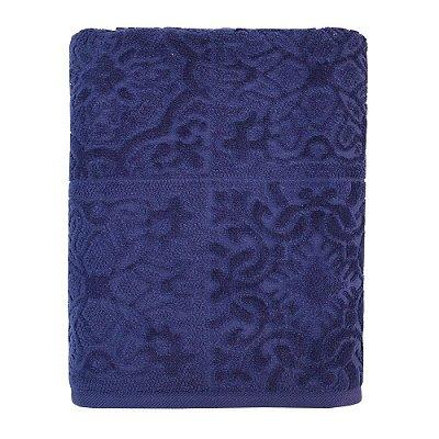 Toalha de Banho Mirandela - Azul Escuro - Buddemeyer