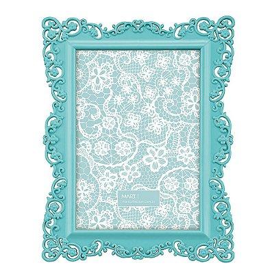 Porta Retrato Candy Azul 10 x 15 - Mart