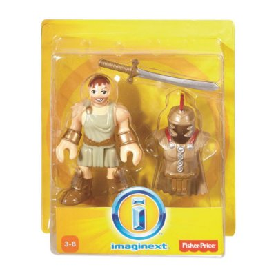 Imaginext Mini Figura com Acessórios - Soldado Romano - Fisher-Price