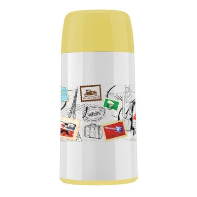 Mini Garrafa Decorada Go Travel - 250ml - Invicta