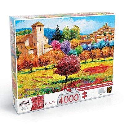 Quebra-Cabeça Verão em Lourmarin - 4000 peças - Grow