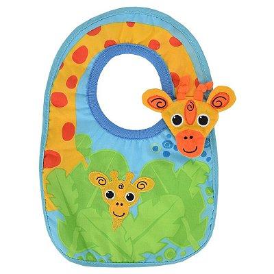 Babador com Textura Girafinha - Girotondo