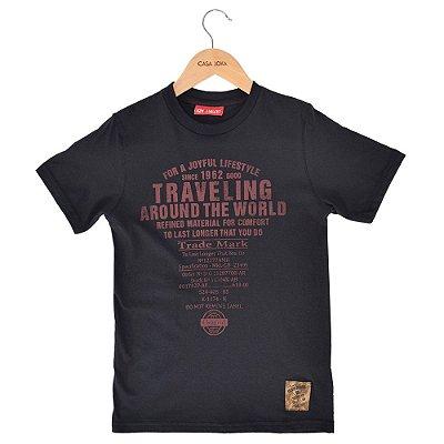 Camiseta Infantil Trade Mark - Kimalukoo