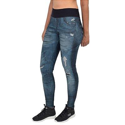 Calça Legging Fusô Jeans Power Riff Urban - Live