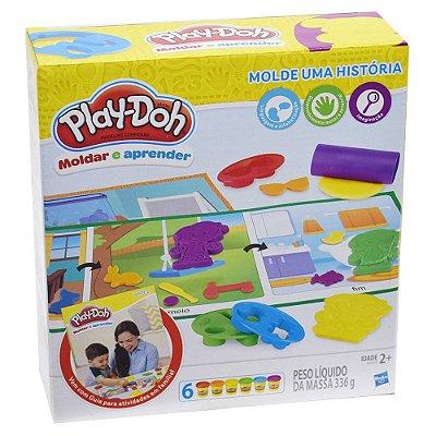 Conjunto Play-Doh Moldar e Aprender