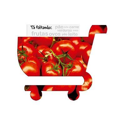 Super Ímã de Geladeira Carrinho de Compras - Tomate - Geguton