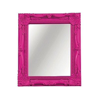 Espelho Decorativo de Parede Rosa 20 x 25 cm - Mart