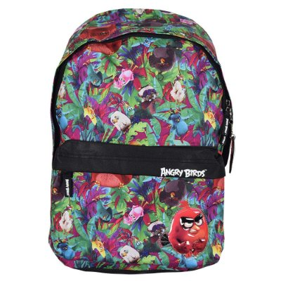 Mochila Angry Birds Floresta Tropical - Sanya