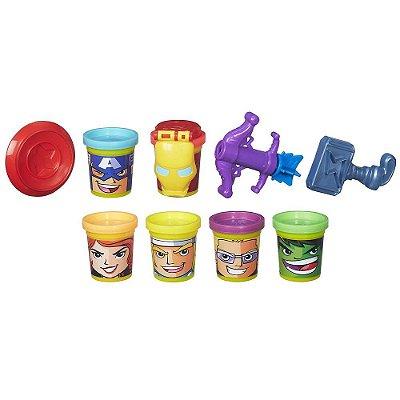 Conjunto Play-Doh Os Vingadores - Hasbro