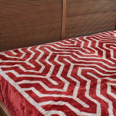 Cobertor Raschel Casal Home Design Saxon - Corttex