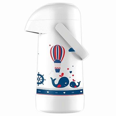 Garrafa Térmica Magic Pump Marinheiro - 500ml - Termolar
