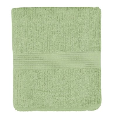 Toalha de Banho Canelada Fio Penteado - Verde - Buddemeyer