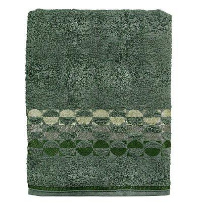 Toalha de Banho Brisa - Verde Militar - Karsten