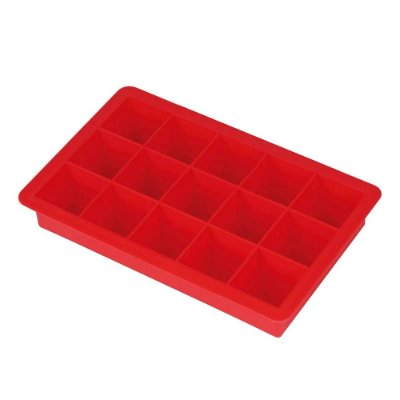 Forma de Silicone Para Gelo - 15 Cubos - Mor