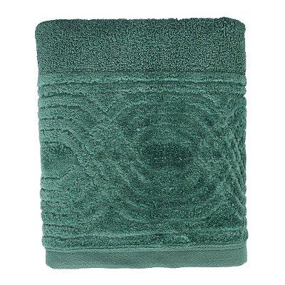 Toalha de Rosto Unique Wave - Verde Escuro - Santista