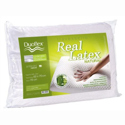 Travesseiro Real Látex Natural - Duoflex