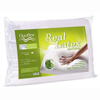 Travesseiro Real Látex Natural - Duoflex