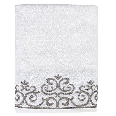 Toalha de Banho Allegra Veridian - Branco - Karsten
